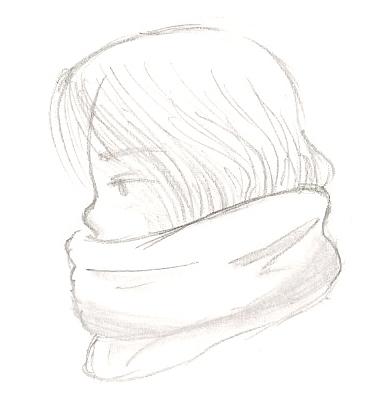 Croquis-BigSweetScarf