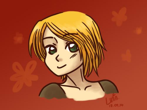 Portrait-Fille