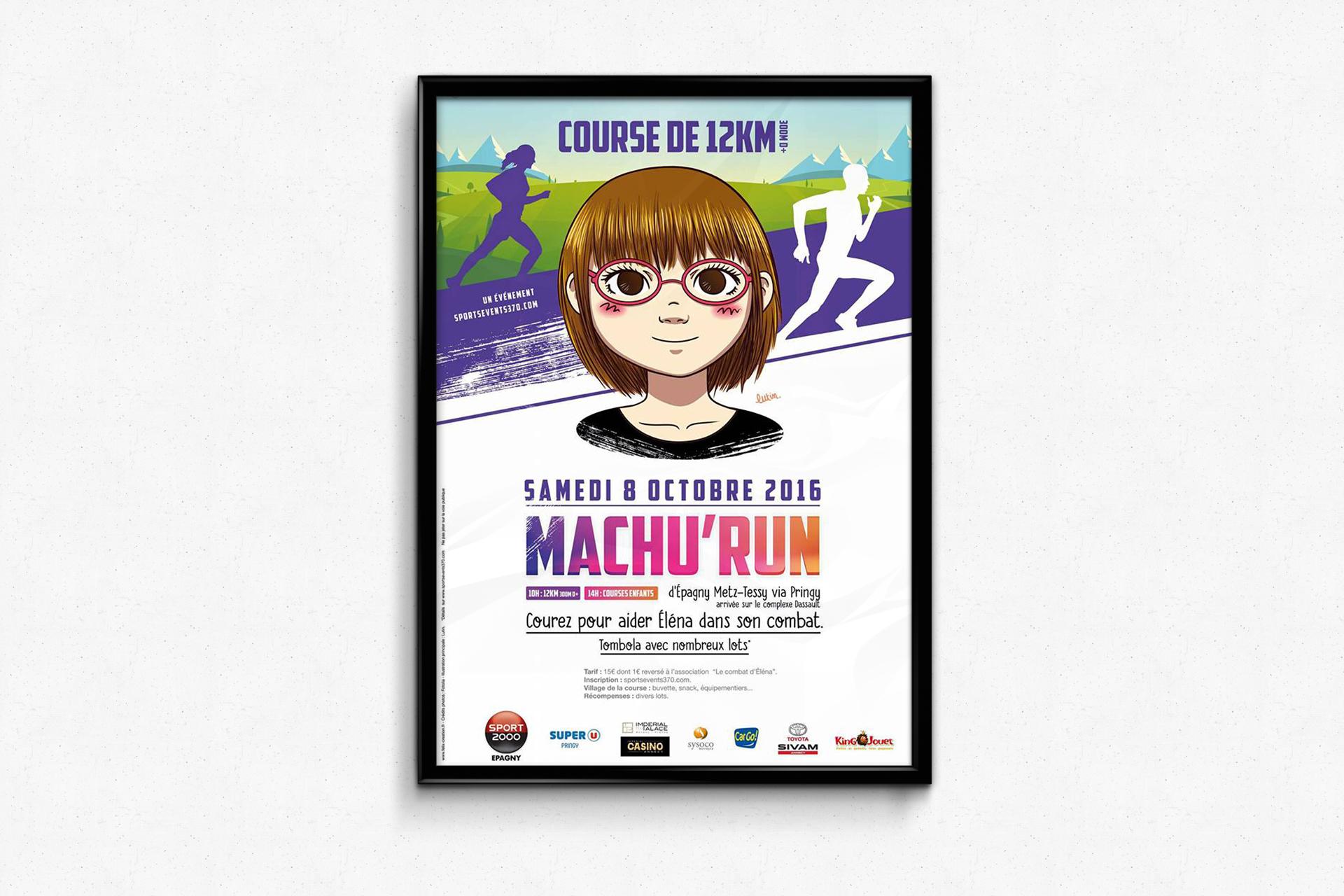 Affiche Machu'run