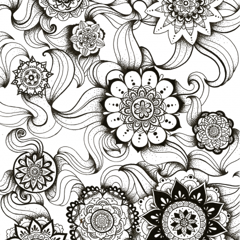 Illustration Mandalas