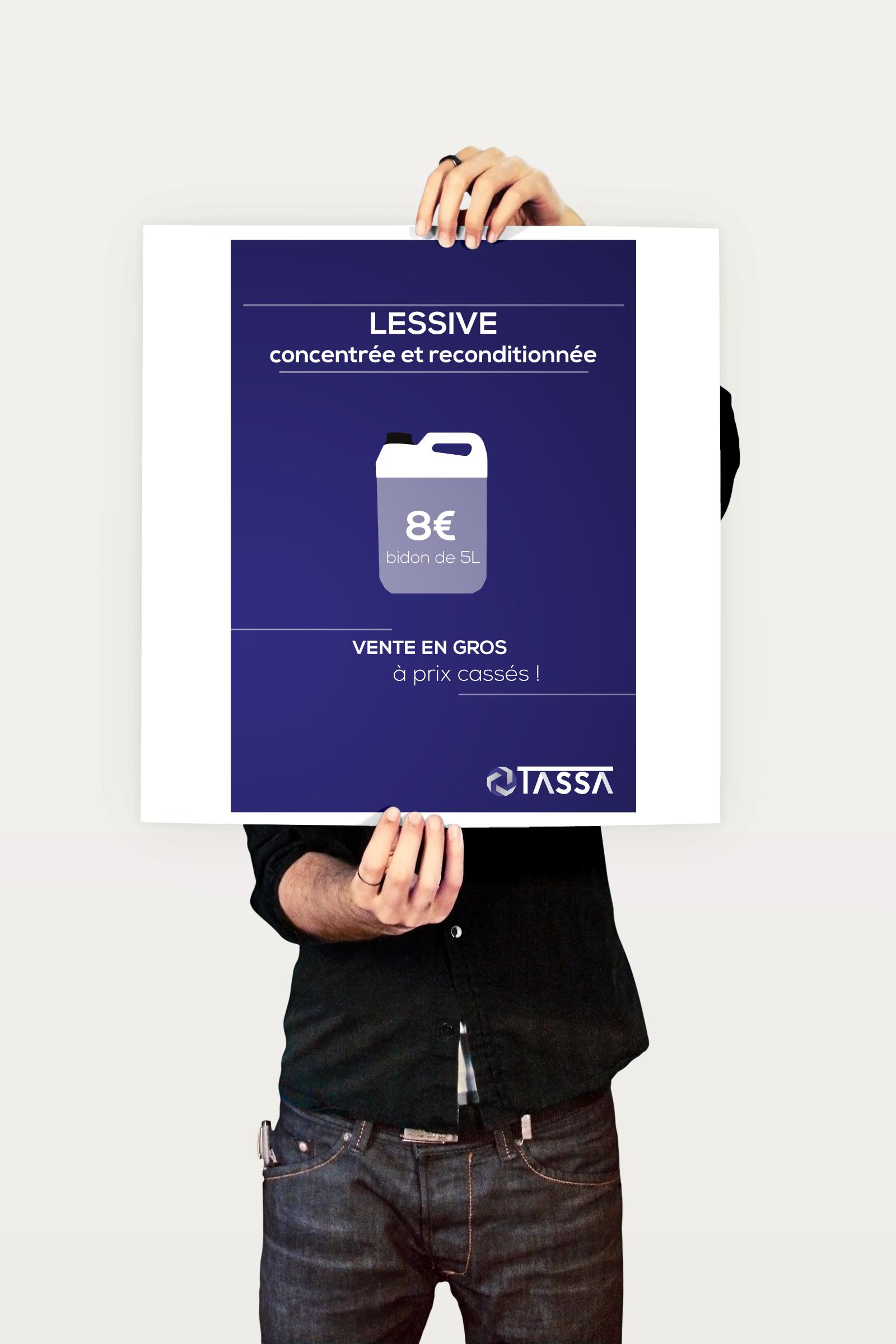 Affiche lessive