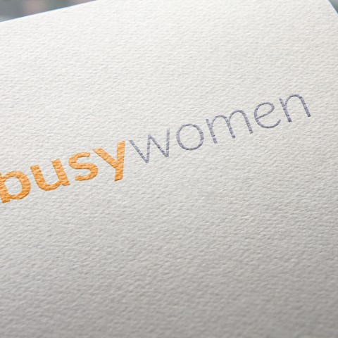 Logo Busy Women