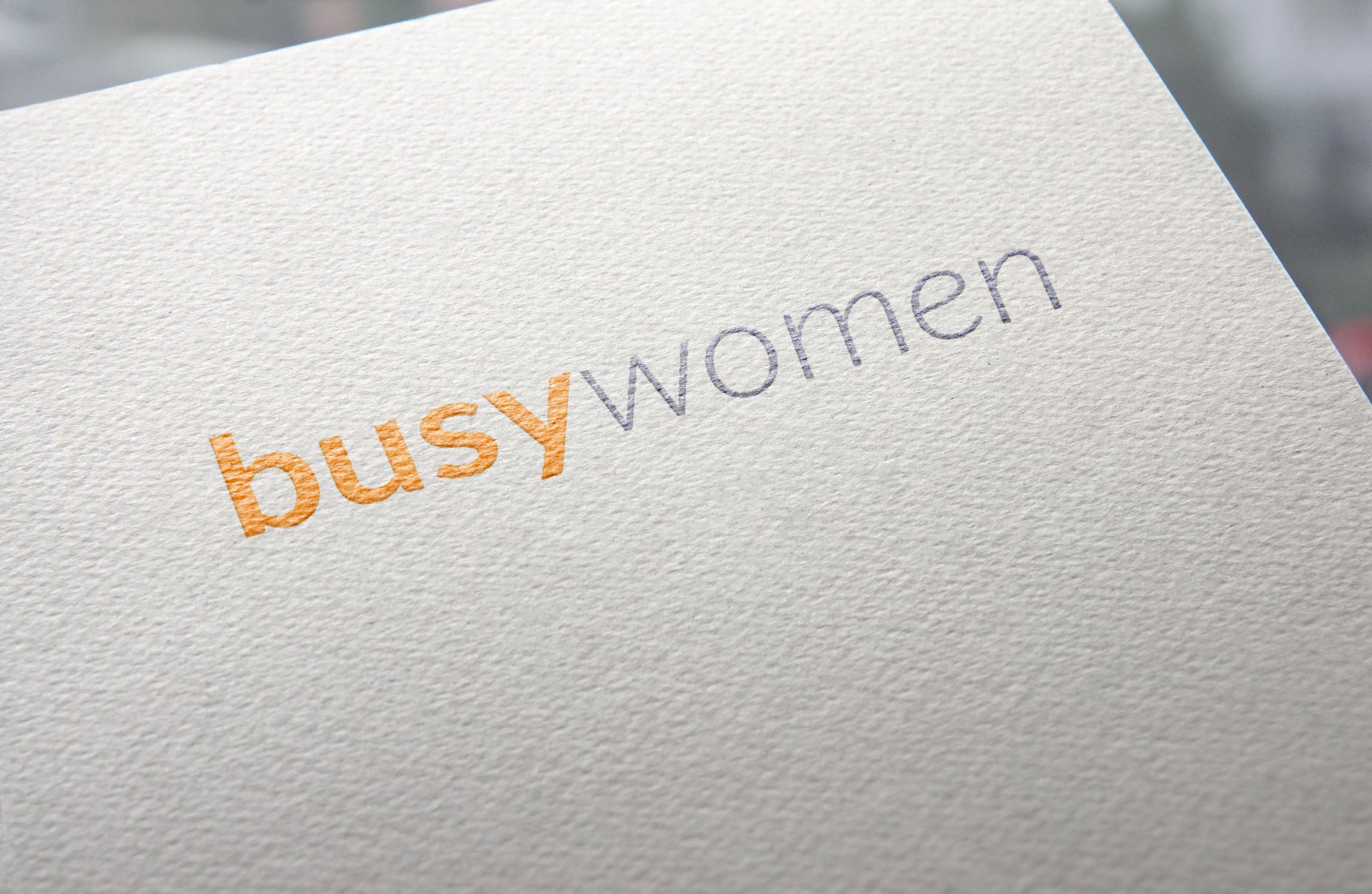 logo busy women