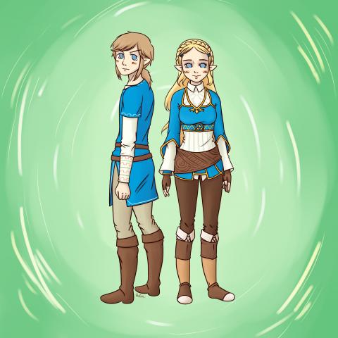 Illustration Zelda